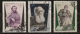 Russie 1935 N°Y.T. ;  577 à 579 (dent.14) Obl. - 1923-1991 USSR