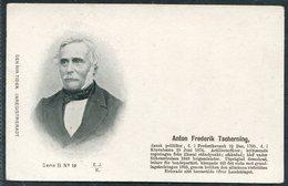 Denmark Den Nya Tiden. Inregistreradt Postcard. Anton Frederik Tscherning - Politicians & Soldiers