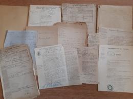 Dossier D'expertise De La Sucrerie Tétard De Gonesse, 1880 - Documentos Históricos