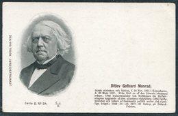 Denmark Den Nya Tiden. Inregistreradt Postcard. Ditlev Gothard Monrad - Politicians & Soldiers