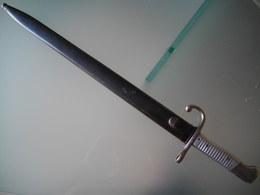 Baionnette Dague Militaire Argentine Mauser 1891 - Armes Blanches