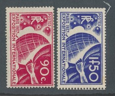 FRANCE - N° 326/27 NEUFS* AVEC CHARNIERE - COTE : 50€50 - 1936 - Unused Stamps