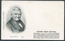 Denmark Den Nya Tiden. Inregistreradt Postcard. Christoffer Vilhelm Eckersberg - Politicians & Soldiers