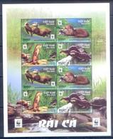 G41- Vietnam 2016. W.W.F WWF Fauna Clawed Otter Avdpz. - W.W.F.