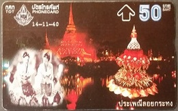Opt. Telefonkarte Thailand -  Tradition - Thailand
