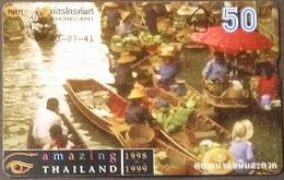 Opt. Telefonkarte Thailand -  Markt - Thailand