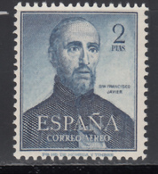 1952 Edifil Nº 1118 MH, San Francisco Javier. - 1951-60 Nuevos & Fijasellos