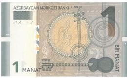 Azerbaijan 1 Manat 2017 P31b UNC - Azerbaïjan