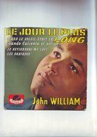 Disque 45 Tours - John Williams - Le Jour Le Plus Long - - Filmmusik