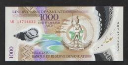 VANUATU  1000   2014  UNC - Vanuatu