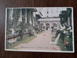 L22/257  VICHY . Hôtel Majestic . Le Jardin De L'hôtel - Vichy
