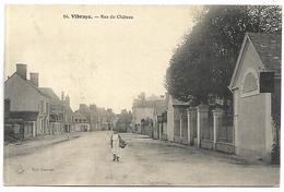 VIBRAYE - Rue Du Château - Vibraye