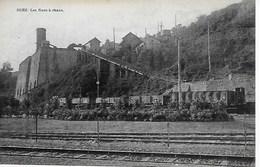 NAMUR. BEEZ.  LES FOURS A CHAUX. ANIMATION AVEC TRAIN - Namur