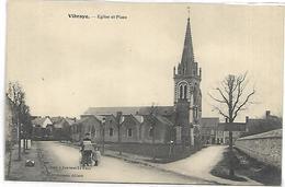 VIBRAYE - Eglise Et Place - Vibraye