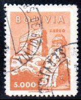 APR1857 - BOLIVIA 1960 ,   Yvert N. 195  Usato  (2380A) - Bolivia