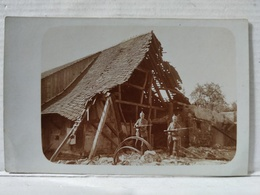 Carte Photo. Reiningen. Guerre. Militaires - Francia