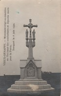Vieux-Genappe , Monument érigé Cimetière En L'honneur Combattants Et Déportés Morts Patrie,1914-1918 , Inauguré 8-6-1930 - Genappe
