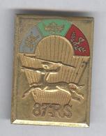 Insigne 87ème RS Régiment De Soutien Embouti - Arthus Bertrand - Très Bon état - Army