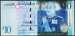 TONGA  10   2008  UNC - Tonga