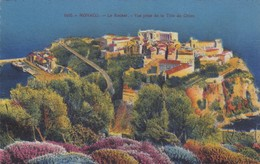Postcard Monaco Le Rocher Vue Prise De La Tete De Chien My Ref  B13450 - Monaco