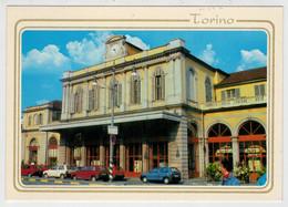 ITALY   TORINO  PORTA  SUSA     TREIN-TRAIN-TRENI-ZUG- STATION-BAHNHOF-GARE-STAZIONE    (NUOVA) - Treni