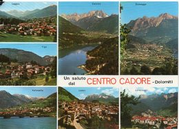 Un Saluto Dal CENTRO CADORE - Dolomiti - Vedute - Non Classificati
