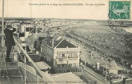 85  Vendée :  Panorama Général De La Plage Des Sables-D'Olonne- Un Jour De Courses  Réf 6793 - Sables D'Olonne