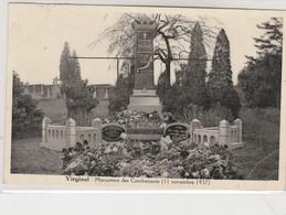 Virginal - Monument Des Combattants ; Guerre 1914-1918 , ( 11 Novembre 1937 ) - Ittre