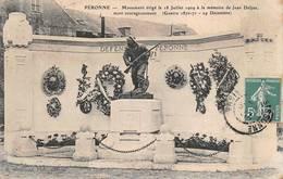 Péronne Monument Jean Delpas Guerre 1870 - Peronne