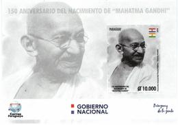 Paraguay 2019 150th Anniversary Of Mahatma Gandhi - Paraguay