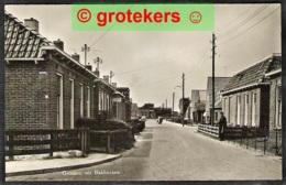BAKHUIZEN Hoek Bakwei En ? Links Winkel Postma Rijwielen En Electra Ca 1950 - Nederland