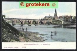 MAASTRICHT Maasbrug Met Zicht Op Wijk Ca 1907 - Maastricht
