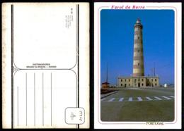 PORTUGAL COR 55908 - AVEIRO - FAROL DA BARRA PHARE LIGHTHOUSE LEUCHTTURM VUURTOREN - Aveiro