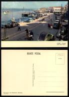 PORTUGAL COR 55928 - AVEIRO - COSTA NOVA ILHAVO - OLD CARS AUTOMOBILES VOITURES CITROEN 2CV OPEL DKW FIAT - Aveiro