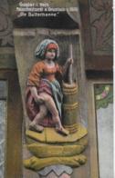 """AK 0280  Goslar - Holzschnitzerei Am Brusttuch """" Die Butterhanne """" / Verlag Lederbogen Um 1911 - Goslar"""