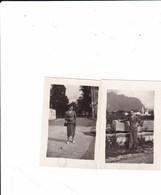 AGORDO - BELLUNO LOTTO DI DUE FOTO DEL 1949 CON DIDASCALIA - Luoghi