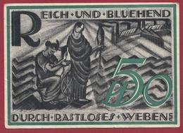 Allemagne 1 Notgeld 50 Pfenning Stadt Gera-Reuss (RARE )  Dans L 'état   Lot N °4178 - [ 3] 1918-1933 : République De Weimar