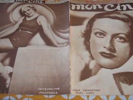 MON CINE/ JACQUELINE FRANCELL /JOAN CRAWFORD /JEUNES FILLES UNIFORME COLETTE /ARTAUD/BETTE DAVIS /LILIAN HARVEY - Livres, BD, Revues
