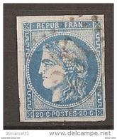 LUXE 1er CHOIX N°46B - 1870 Emission De Bordeaux
