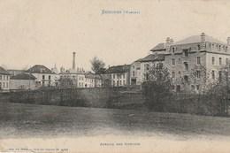 CPA 88 (Vosges) SENONES / AVENUE DES GOUTTES - Senones