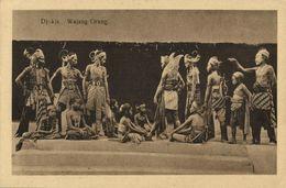 Indonesia, JAVA YOGYAKARTA DJOKJA, Wajang Wayang Orang (1920s) Postcard (1) - Indonesië
