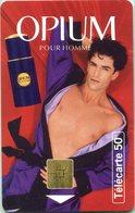 Catégorie Parfums - Opium Pour Homme (Recto-Verso) - France