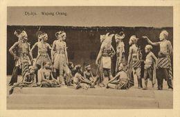Indonesia, JAVA YOGYAKARTA DJOKJA, Wajang Wayang Orang (1920s) Postcard (2) - Indonesië