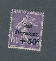 FRANCE - N°YT 268 NEUF** SANS CHARNIERE AVEC GOMME NON ORIGINALE (GNO) LEGER PIQUAGE NORD/SUD - COTE YT : 80€ - 1930 - France
