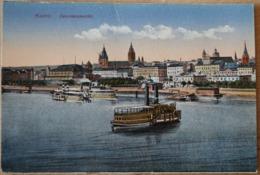Mainz Gesamtansicht Postkarte - Mainz