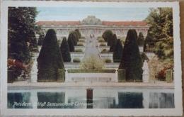 Potsdam Schloß Sanssouci Mit Terrassen - Potsdam
