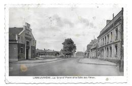 62/ PAS De CALAIS...LABEUVRIERE. La Grand'Place Et La Salle Des Fêtes - Francia