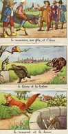 FABLES De Jean DE LA FONTAINE ILLUSTREES Par CALVET ROGNIAT   - TRES BEAU LOT De 8 CPA - - Fiabe, Racconti Popolari & Leggende