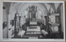 Steinkirchen Kirche Innen St. Peter Ortenburg Passau Bayern - Deutschland