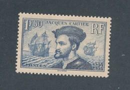 FRANCE - N°YT 297 NEUF* AVEC CHARNIERE - COTE YT : 52€ - 1934 - France